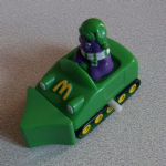 McDonalds happy meal  Wind-Up snow plough 1994)
